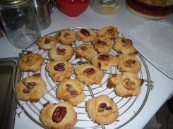 Zandkoekjes met noten