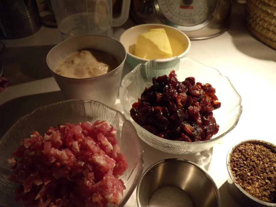 Spek en cranberry