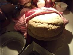 eerste rijs notenbrood