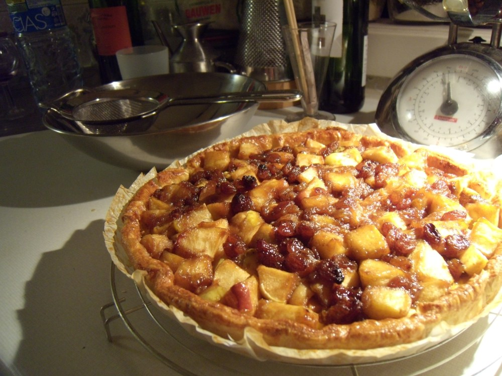 Simpele pudding-appeltaart (2/2)