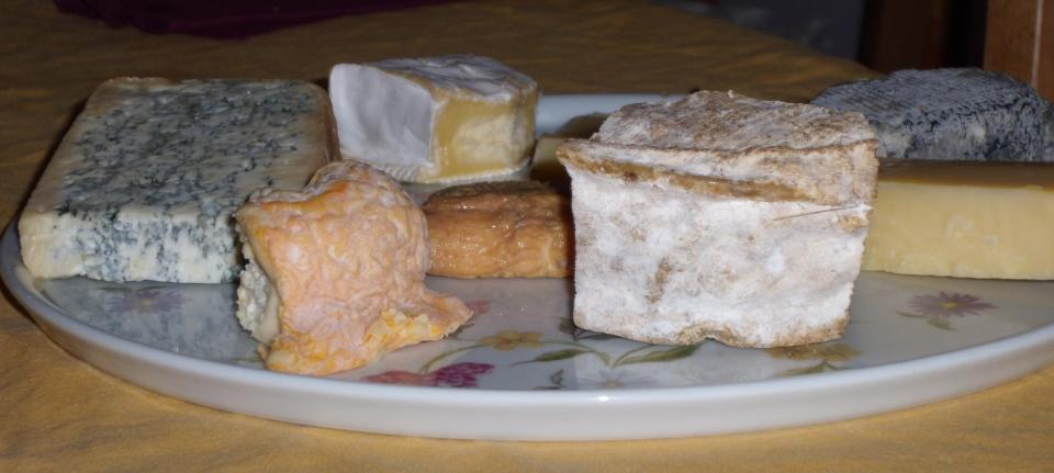 Bij de kaas