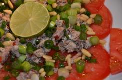 Carpaccio sardines