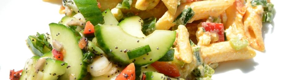 komkommer met maanzaad