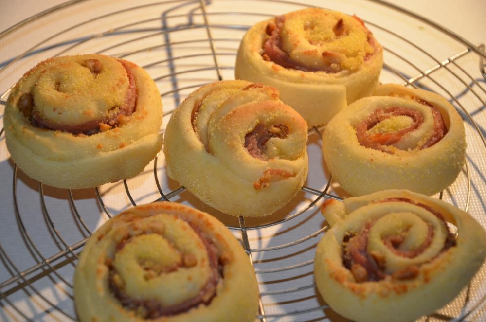 Les I: mini griesmeel-broodjes en appel-kokoscake (1/5)