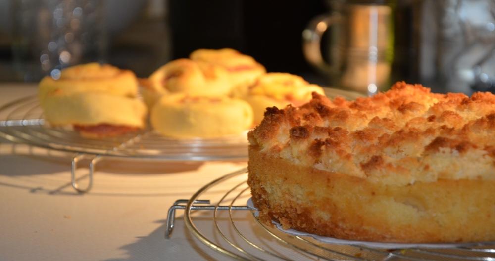 Les I: mini griesmeel-broodjes en appel-kokoscake (2/5)