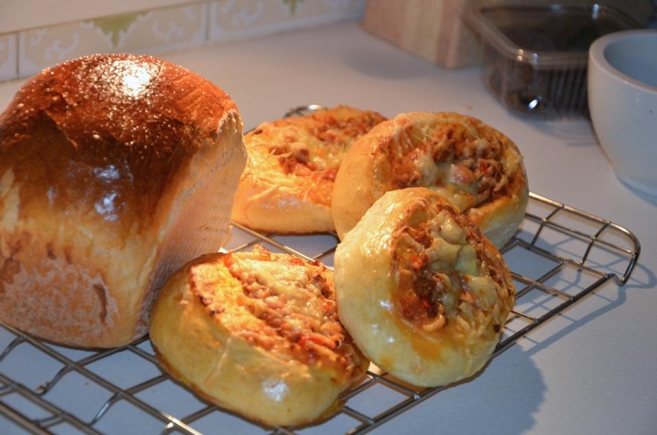 Melkbrood - Pizzabroodjes
