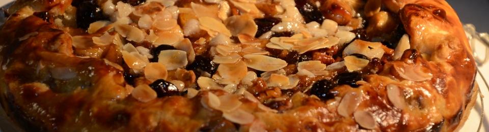 Appeltaart met noten