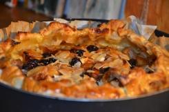 Appel-puddingtaart