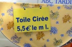 toile ciree
