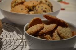 Koekjes en Cranberrybrood
