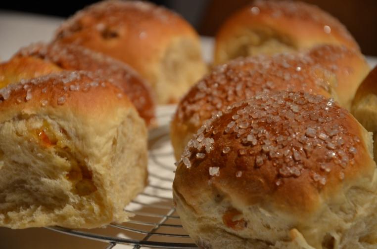 Petit pains briochés